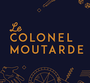 Commanditaire Jeux au Boute - Le Colonel Moutarde