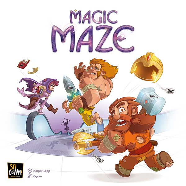 Magic Maze - Distribution Dude - Jeux au boute